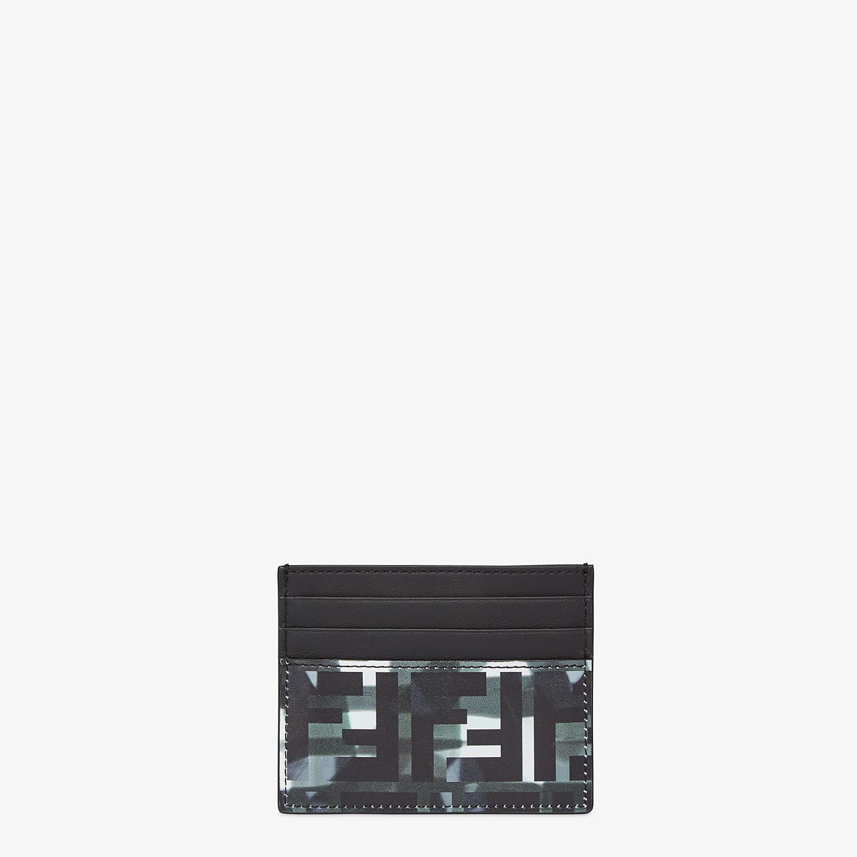 FENDI CARD HOLDER - Multicolor leather card holder - view 1 detail