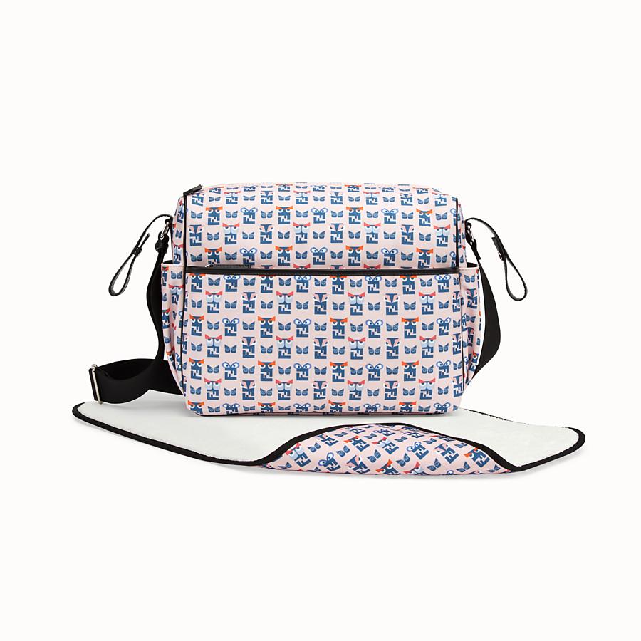 2c60a0af0f80 Pink fabric changing Bag - CHANGING BAG