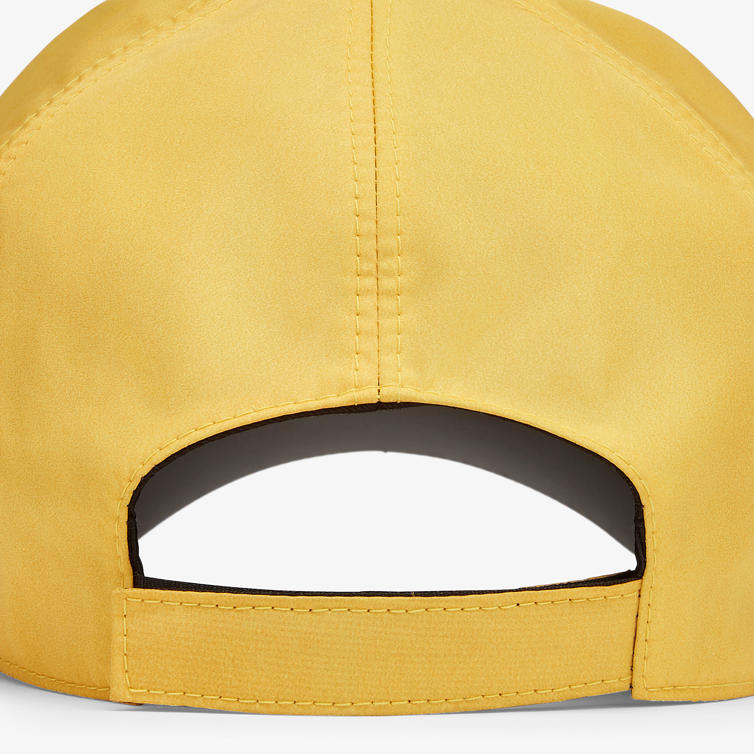 FENDI HAT - Yellow nylon baseball cap - view 2 detail