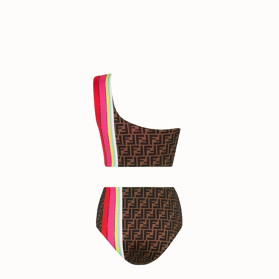 FENDI SWIMSUIT - Fendi Roma Amor Lycra® bikini - view 2 detail