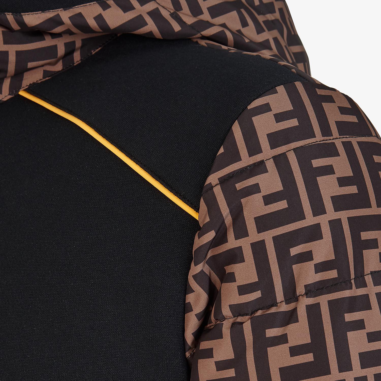 FENDI BLOUSON JACKET - Multicolor tech fabric sweater - view 3 detail