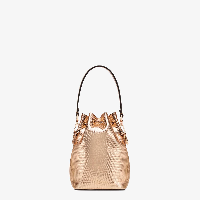 FENDI MON TRESOR - Rose gold karung mini-bag - view 3 detail