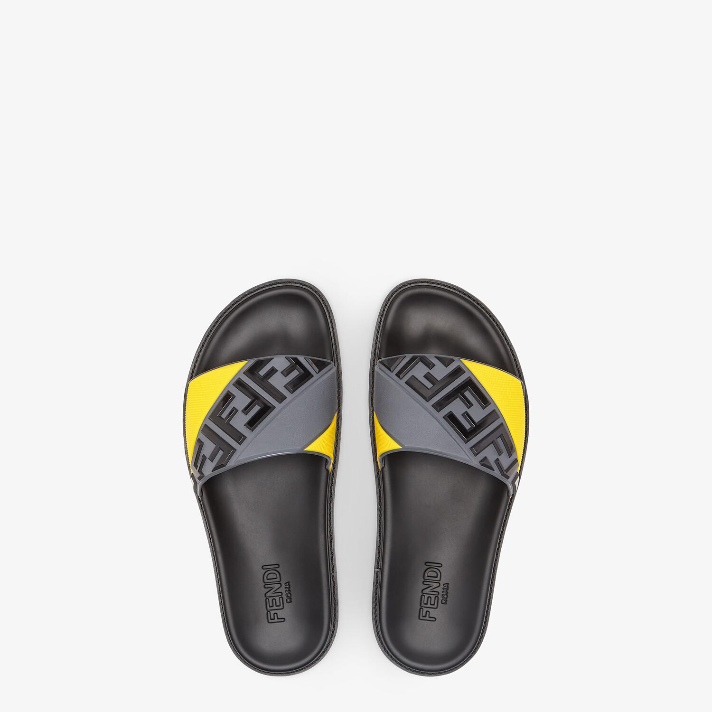FENDI PANTOLETTEN - Fußbett aus mehrfarbigem Gummi - view 4 detail