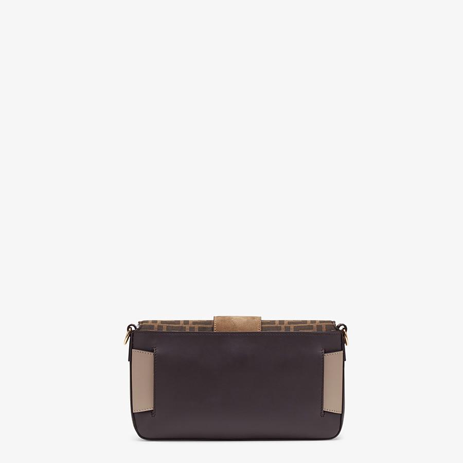 FENDI BAGUETTE - Brown calfskin bag - view 4 detail