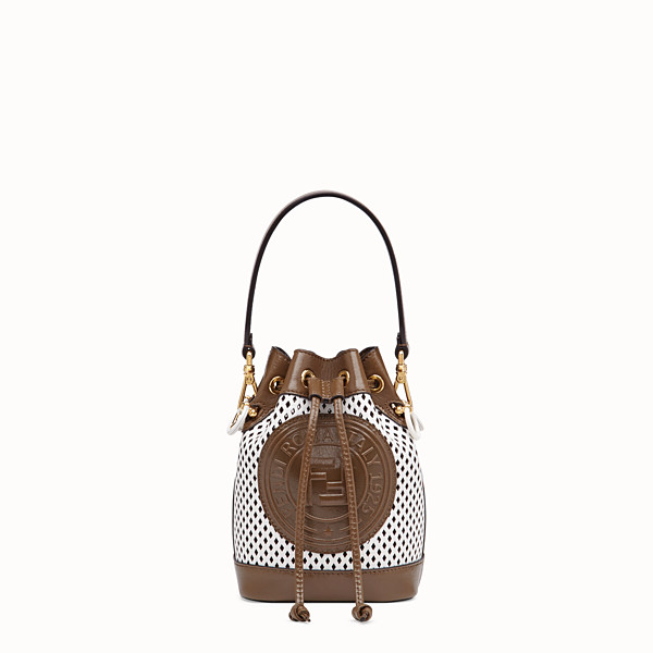 FENDI MON TRESOR - White leather mini-bag - view 1 small thumbnail