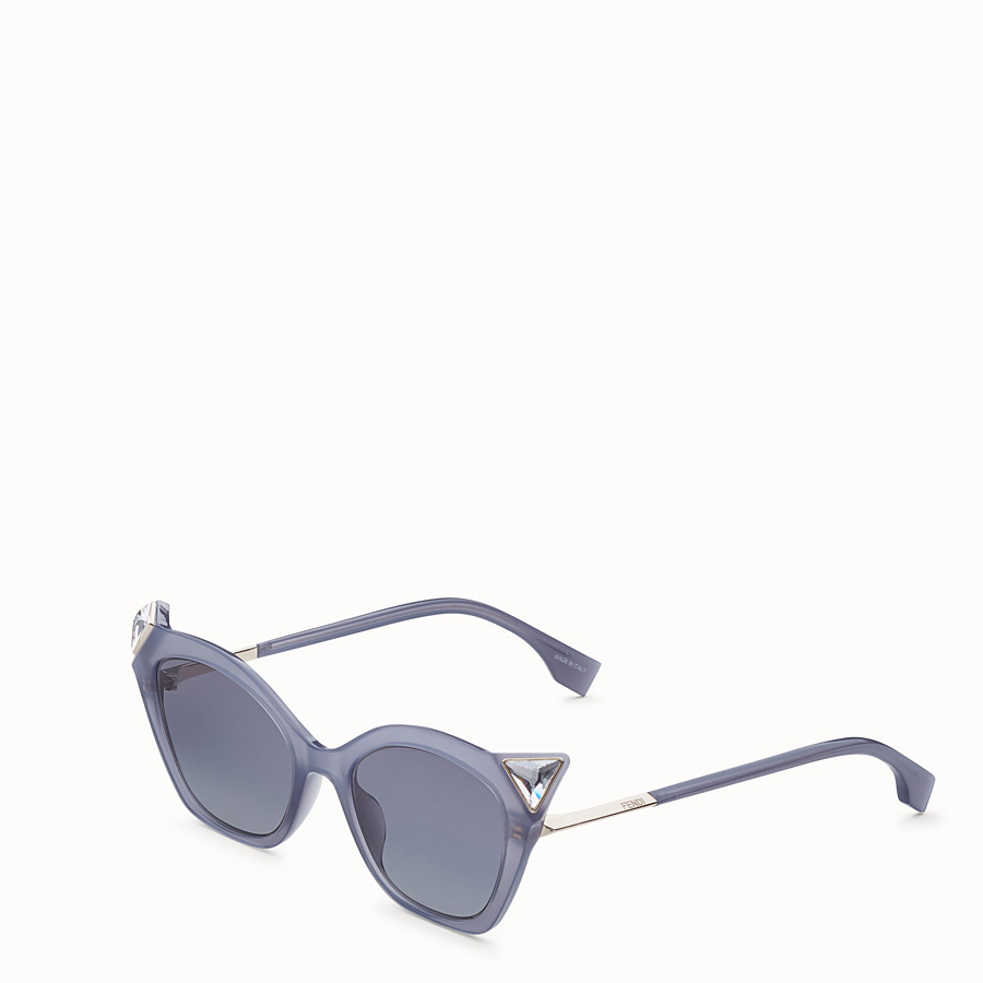 FENDI IRIDIA - Opale Grey sunglasses - view 2 detail