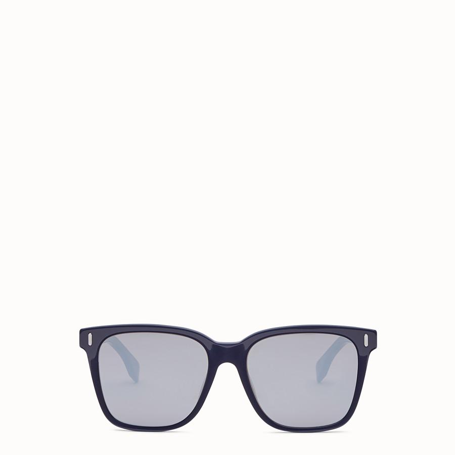 FENDI FENDI - 藍色亞洲版型太陽眼鏡 - view 1 detail