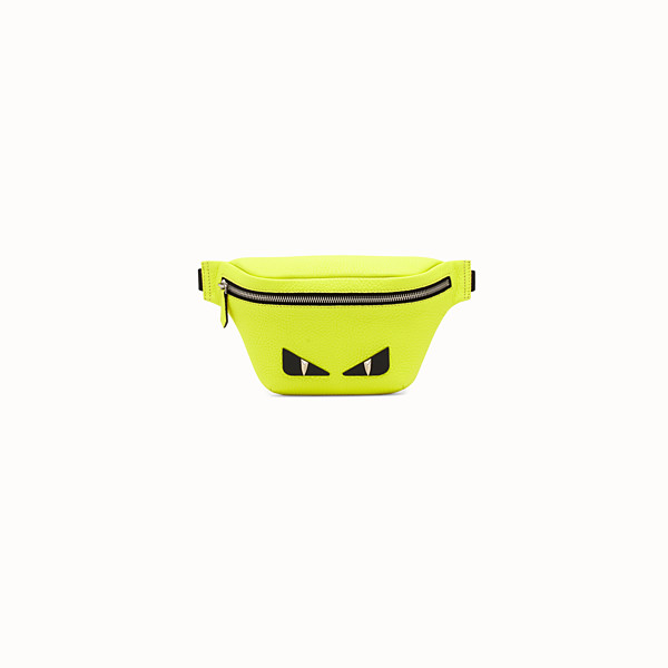 FENDI BABY BELT BAG - Yellow leather belt bag - view 1 small thumbnail