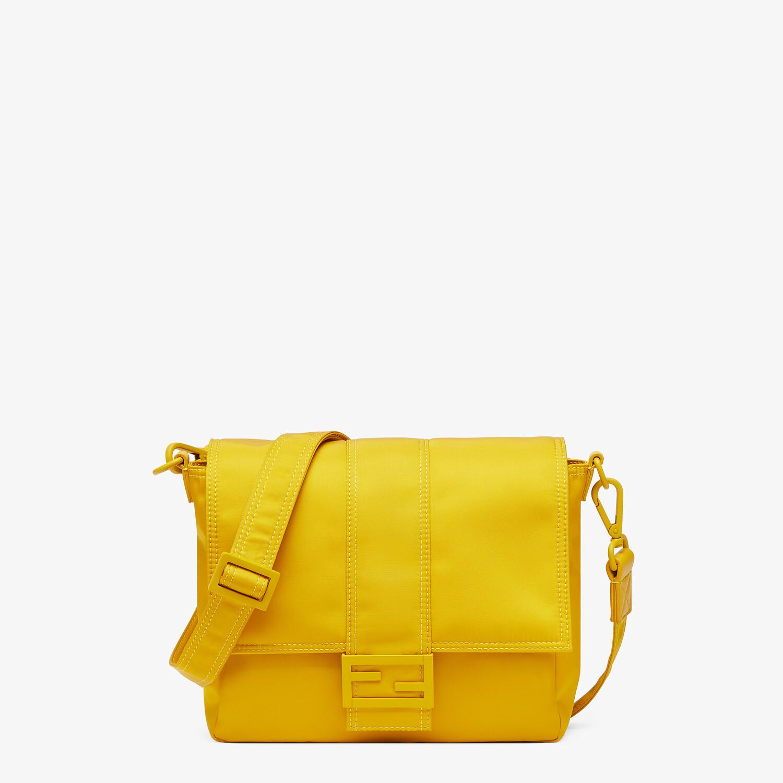 FENDI BAGUETTE MESSENGER BAG MEDIUM - Yellow nylon bag - view 1 detail