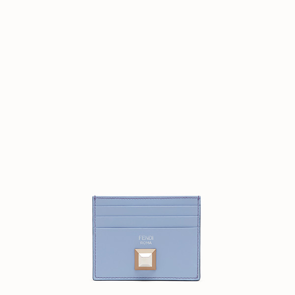 FENDI CARD HOLDER - Flat multicolor leather card holder - view 1 small thumbnail