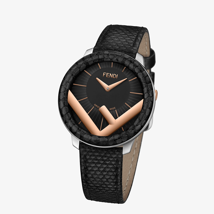 FENDI RUNAWAY - 36 mm - Watch with F is Fendi logo - view 2 detail