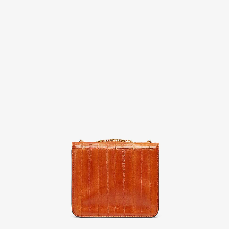 FENDI FENDI FAB - Brown eel leather bag - view 3 detail