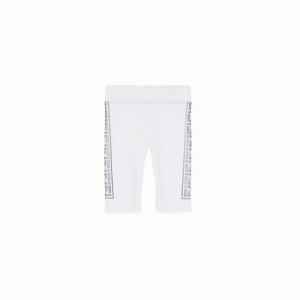 FENDI CYCLISTE - Legging de cycliste Fendi Prints On avec logo FF - view 1 small thumbnail