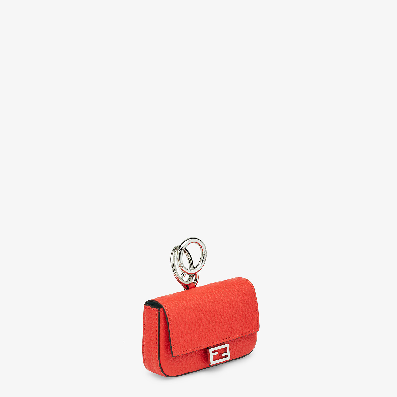 FENDI NANO BAGUETTE CHARM - Fendi Roma Amor leather charm - view 2 detail