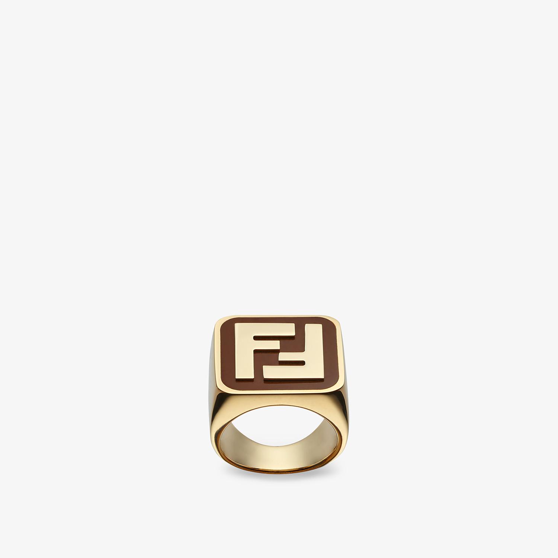 FENDI BAGUETTE NECKLACE - Gold-color necklace - view 3 detail