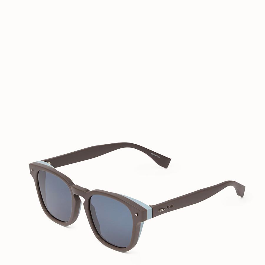 FENDI I SEE YOU - Dove grey sunglasses - view 2 detail