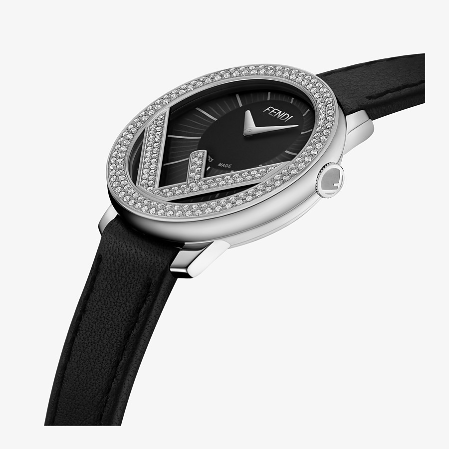 FENDI RUN AWAY - 28 mm - Watch with F is Fendi logo - view 3 detail