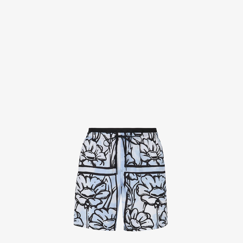 FENDI SWIM SHORTS - Fendi Roma Joshua Vides tech fabric shorts - view 1 detail