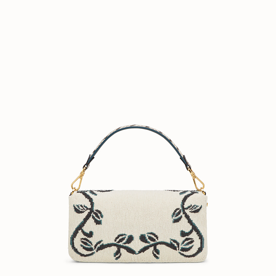 FENDI BAGUETTE - Bag with multicolour embroidery - view 3 detail