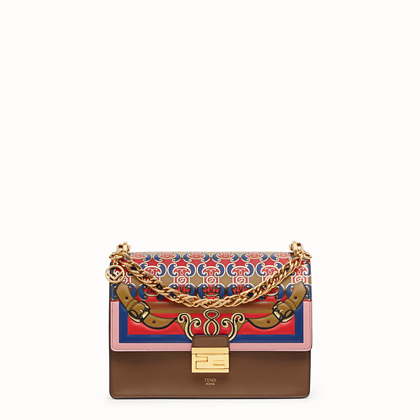 FENDI KAN U - Multicolor leather bag - view 1 small thumbnail