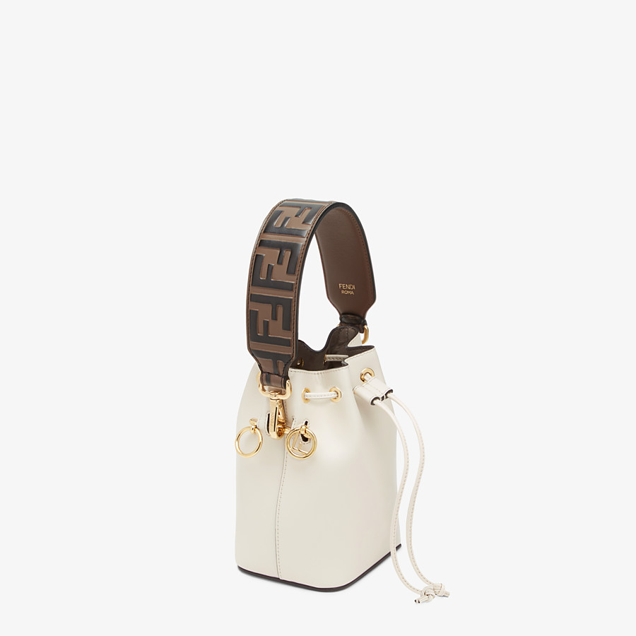FENDI MINI STRAP YOU - Leather shoulder strap - view 2 detail