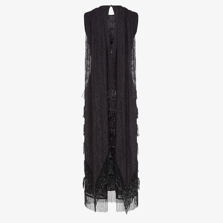 FENDI DRESS - Black lace dress - view 2 detail
