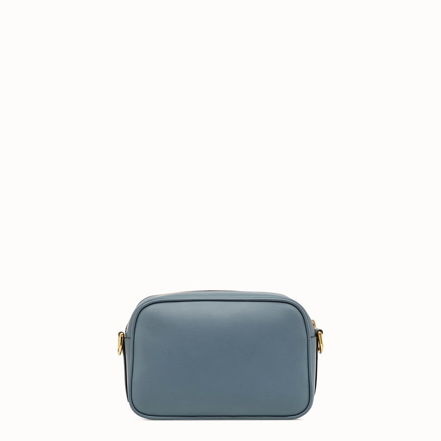 FENDI CAMERA CASE - Blue leather bag - view 3 detail