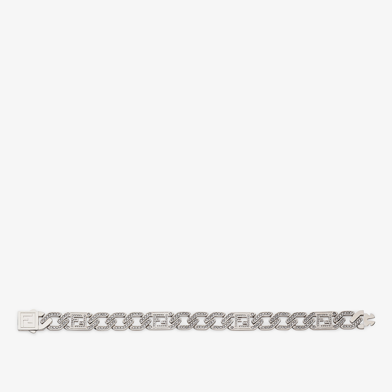 FENDI BRACELET - Silver-colored bracelet - view 1 detail