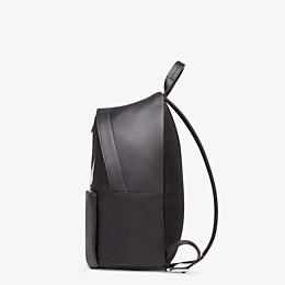 FENDI BACKPACK - Black nylon backpack - view 2 thumbnail