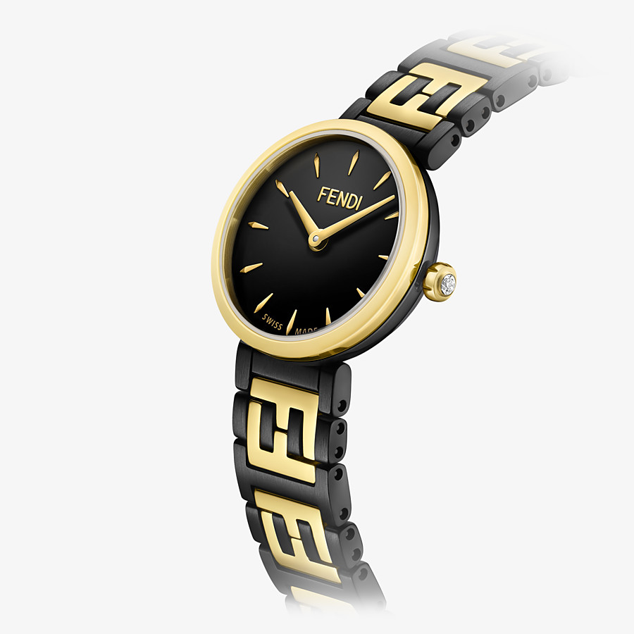 FENDI FOREVER FENDI - 19 MM - Watch with FF logo bracelet - view 3 detail