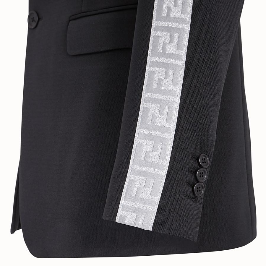 FENDI JACKET - Fendi Prints On jersey blazer - view 4 detail