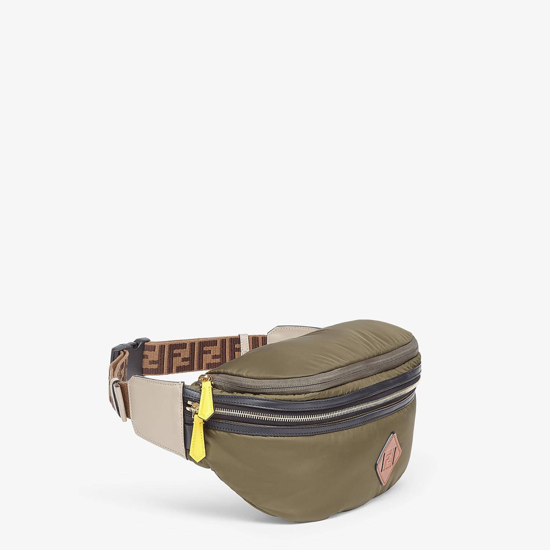 FENDI BACKPACK - Green nylon backpack - view 6 detail