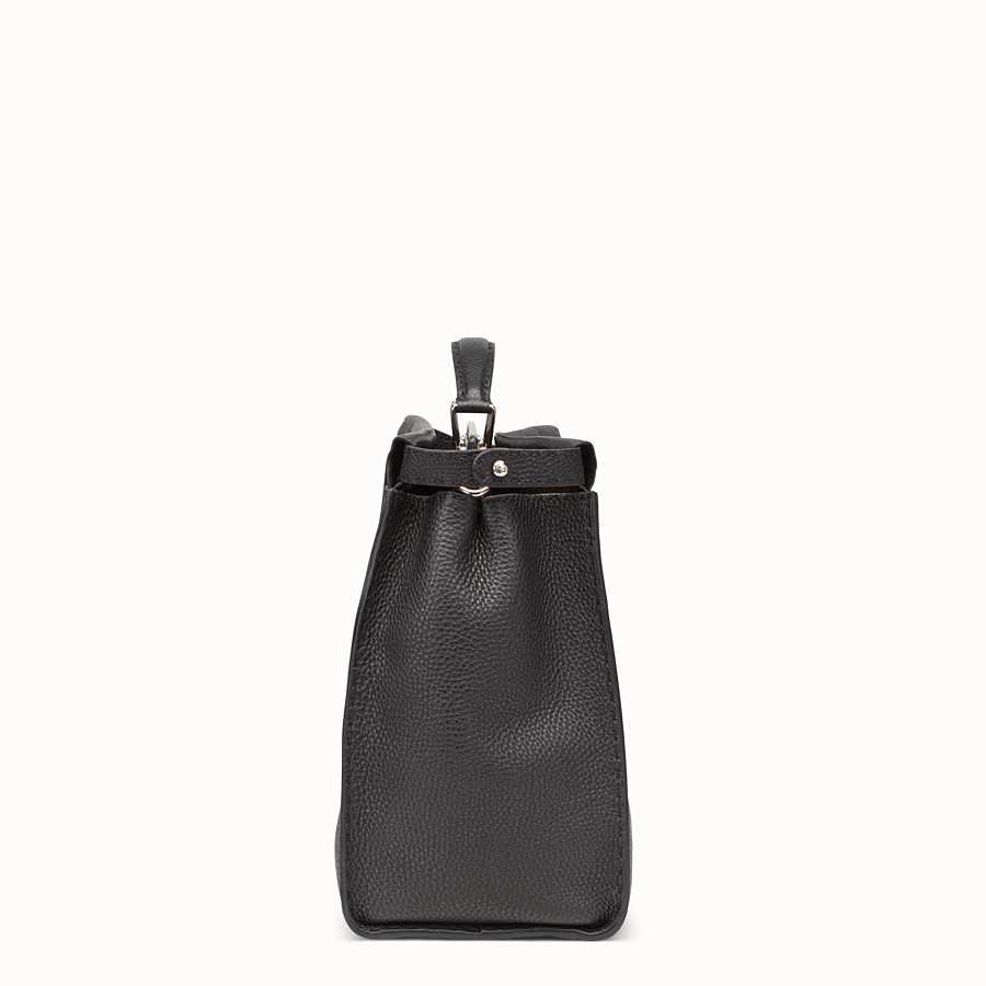 FENDI PEEKABOO MEDIUM - Black leather backpack - view 2 detail