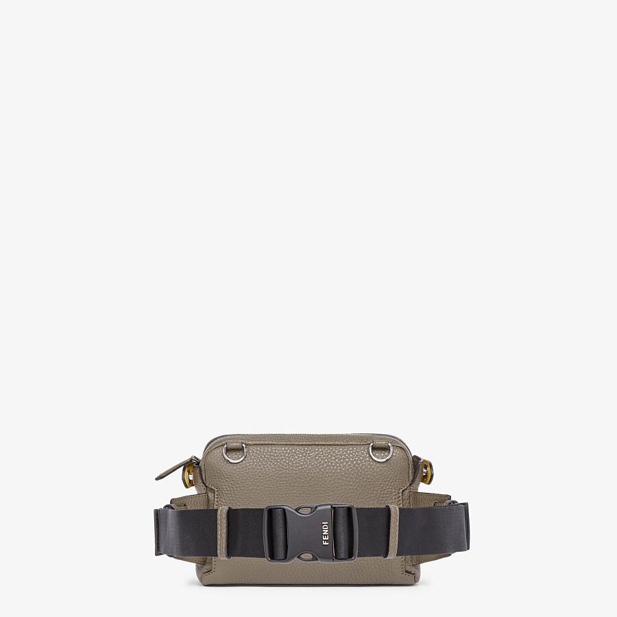 FENDI BELT BAG - Green leather belt bag - view 4 detail