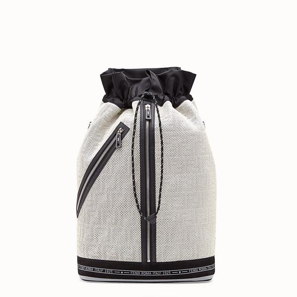 FENDI 背包 - 白色高科技布料超大手袋 - view 1 小型縮圖