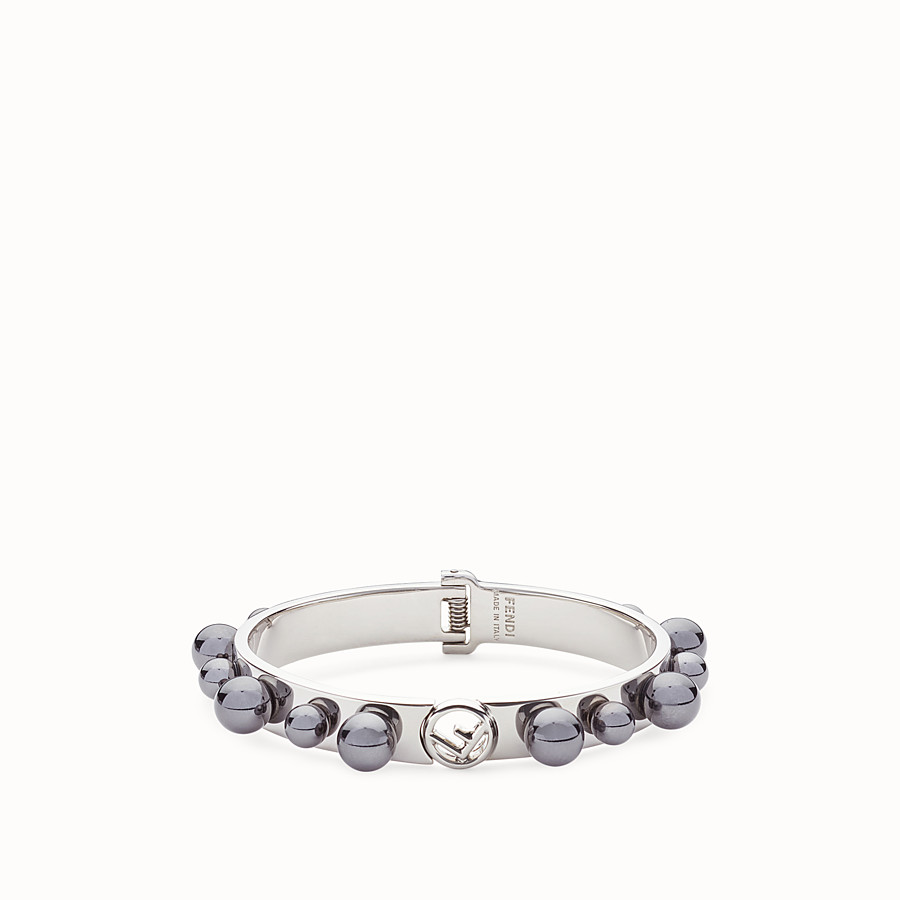 FENDI F IS FENDI BRACELET - Silver-colour bracelet - view 1 detail