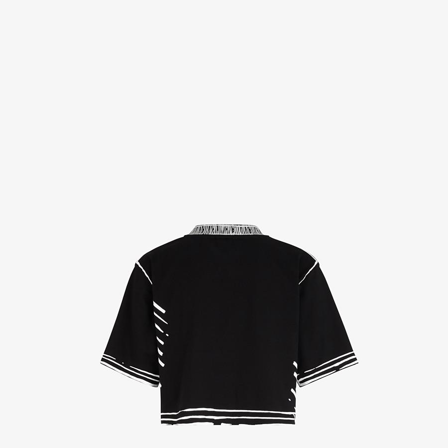 FENDI T-SHIRT - Fendi Roma Joshua Vides cotton T-shirt - view 2 detail