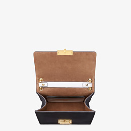 FENDI KAN U SMALL - Leather and suede minibag - view 5 thumbnail