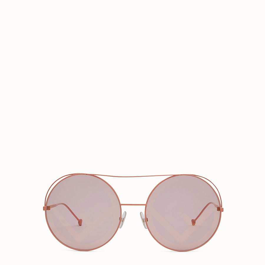 FENDI RUN AWAY - HW 17 Runway-Sonnenbrille in Rosa. - view 1 detail