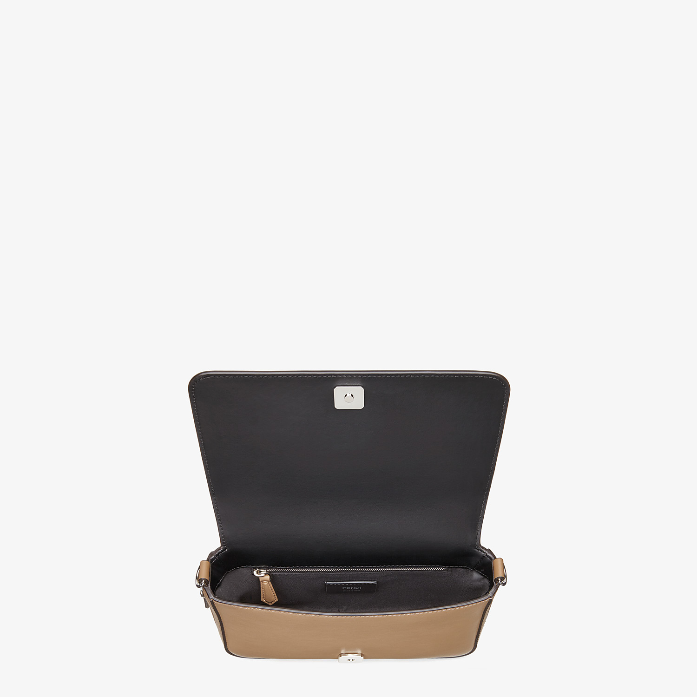 FENDI FLAP BAG - Beige leather bag - view 5 detail