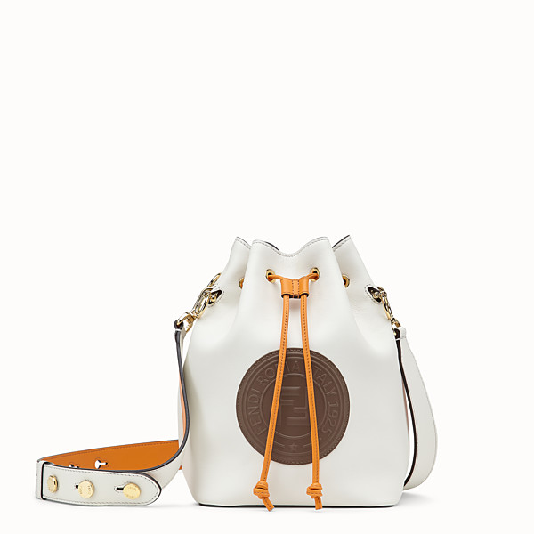 FENDI MON TRESOR - White leather bag - view 1 small thumbnail