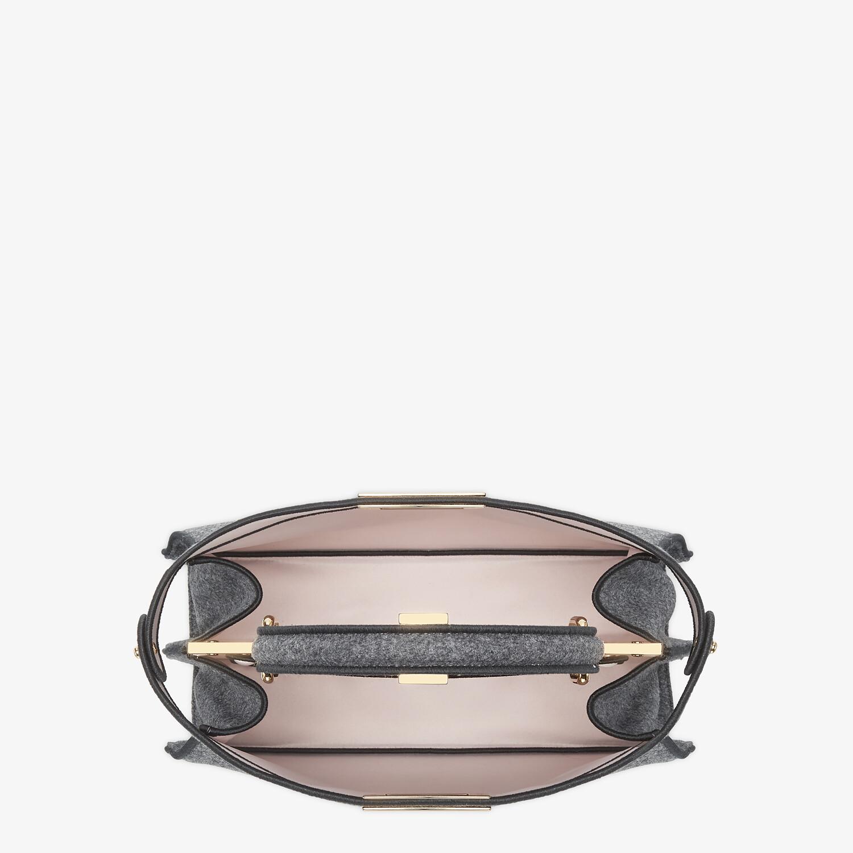 FENDI MEDIUM PEEKABOO ISEEU - Gray flannel bag - view 7 detail