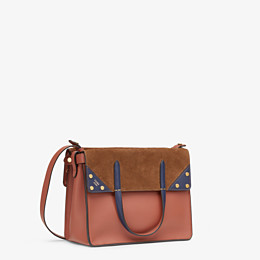 FENDI FENDI FLIP MEDIUM - Tasche aus Leder in Rot - view 4 thumbnail