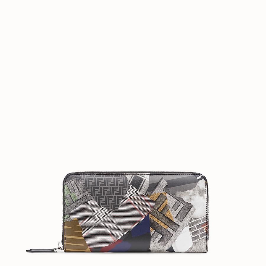FENDI WALLET - Multicolor leather wallet - view 1 detail