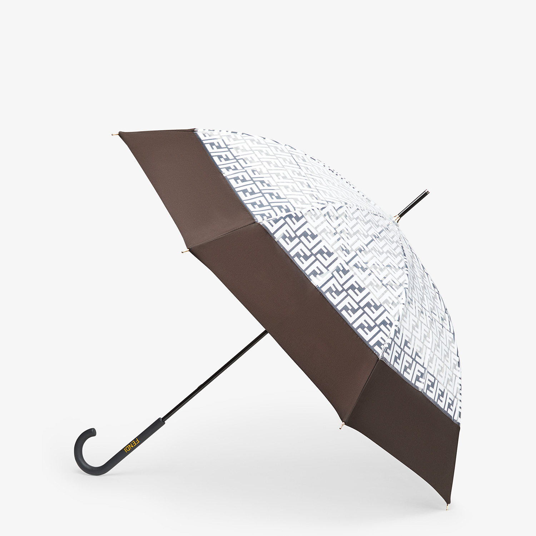 FENDI UMBRELLA - Transparent tech fabric umbrella - view 1 detail
