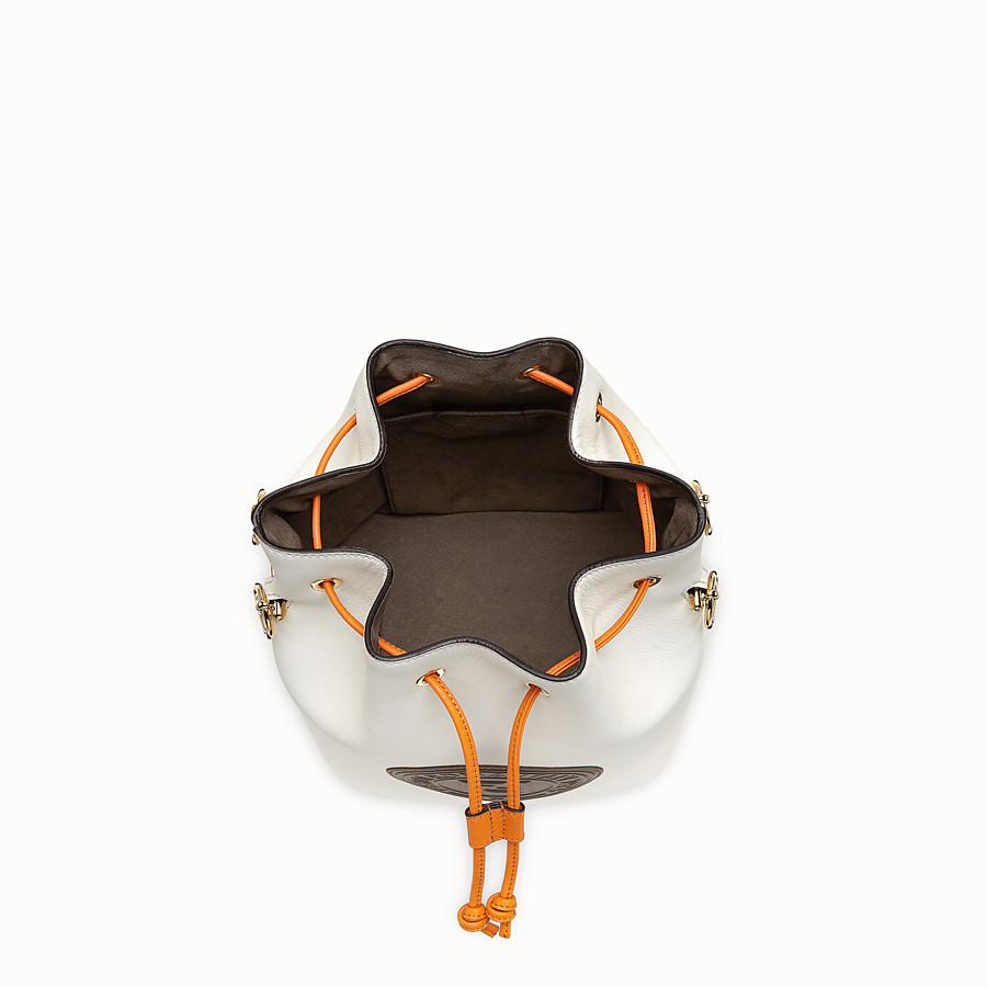 FENDI MON TRESOR - White leather bag - view 4 detail