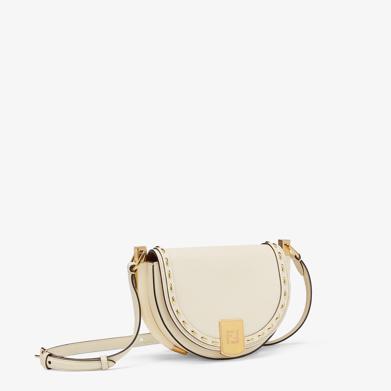 FENDI MOONLIGHT - White leather bag - view 3 detail