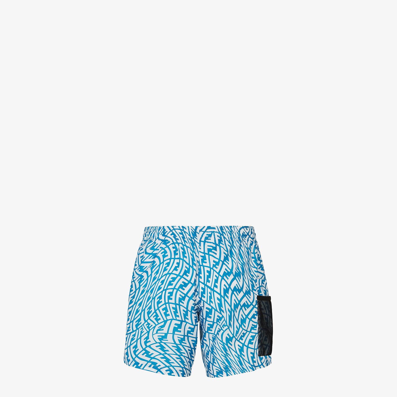 FENDI SWIM SHORTS - Multicolor Lycra® swimsuit - view 2 detail