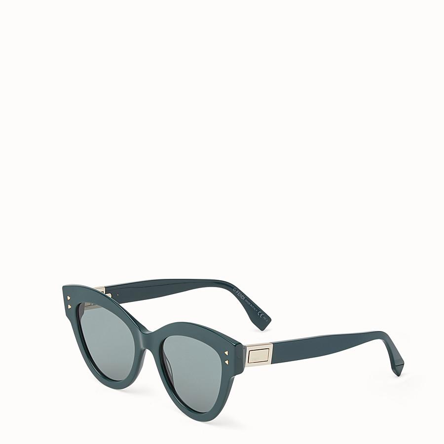 FENDI 피카부 - 그린 컬러의 선글라스 - view 2 detail