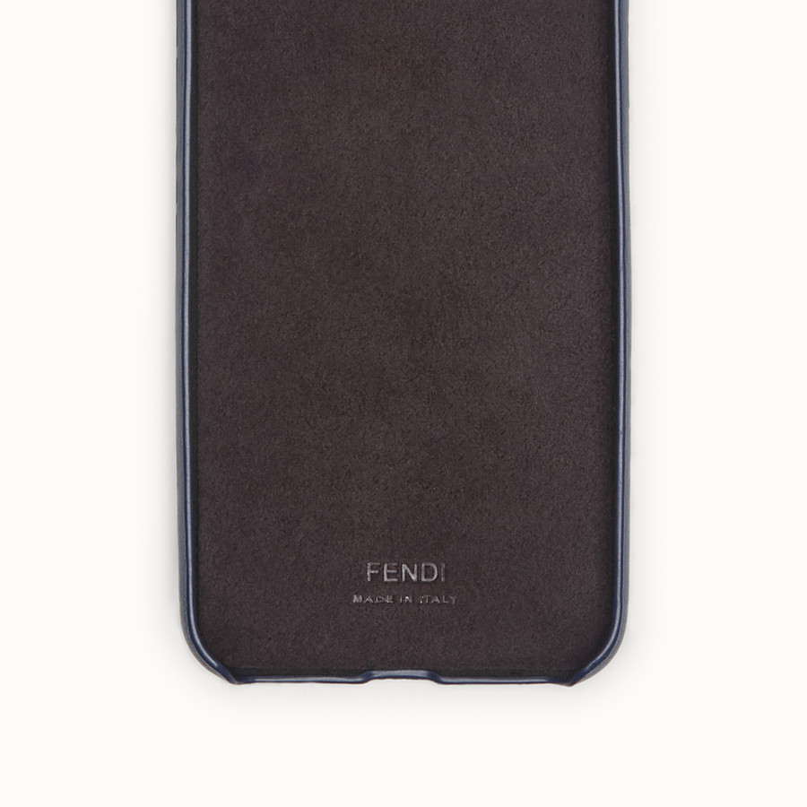 FENDI COQUE POUR iPHONE X - Coque bleue - view 2 detail